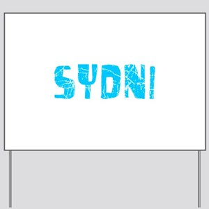 Sydni Faded (Blue) Yard Sign